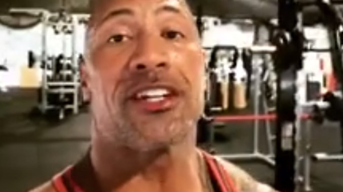 Photo: Instagram-@therock