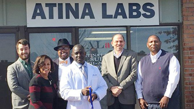 A graduate of our Entrepreneur Training Program, Charles D. Hill, recently opened the doors of his new business, Atina Labs.