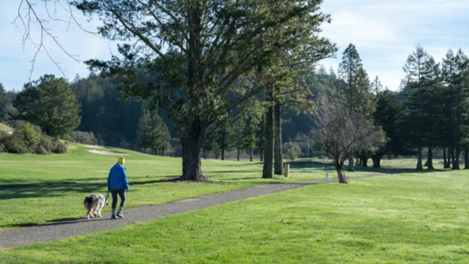 The County of Marin sought to purchase the San Geronimo Golf Course to preserve it as a park for all but is no longer pursuing it.