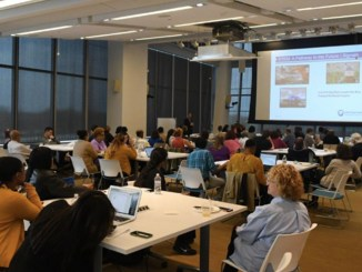 """The """"Empowering STEM"""" conference was held Monday at GlaxoSmithKline's Navy Yard Headquarters. (Photo by: Adbul Sulayman/Tribune Chief Photographer)"""