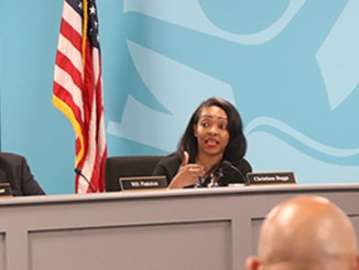 """""""We did not do our part,"""" said School Board Vice Chair Christiane Buggs."""