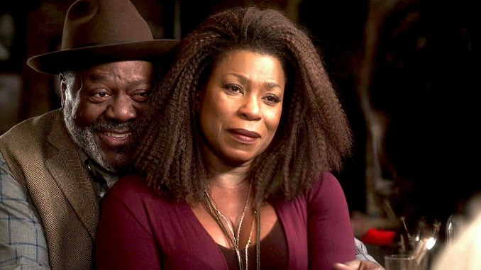 "Lorraine Toussant (right) and Frankie Faison star in NBC's ""Brooklyn."" Toussaint is proud to bring this type of relationship to television – one with older black people loving each other and their neighbors unconditionally. Playing Patricia gives her an opportunity to show the complexity of black women. (Photo: NBC)"