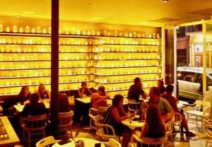 oBou Restaurant Interior by Dwight Brown