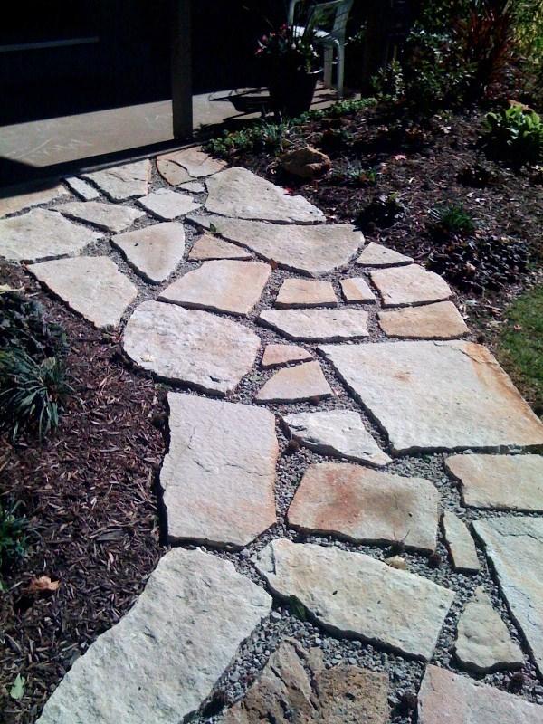 Ozark Flagstone Steppers Patio Stone 300sqft