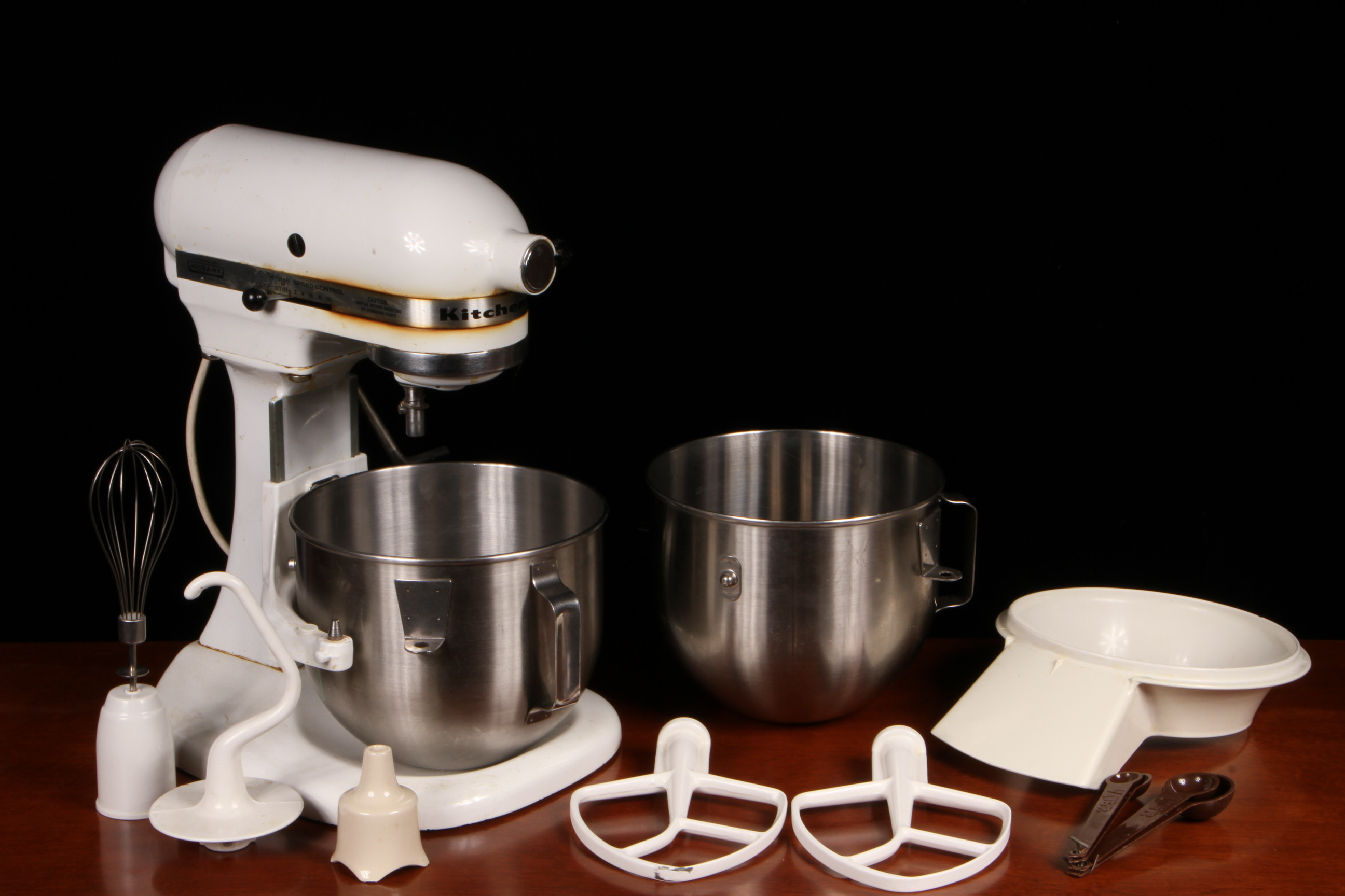 Vintage KitchenAid Solid State Mixer Model K5SS By Hobart