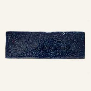 Field Tile Navy Blue Wash