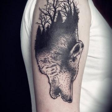 loup-arbre