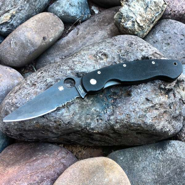 Spyderco Military G-10 Knife Review