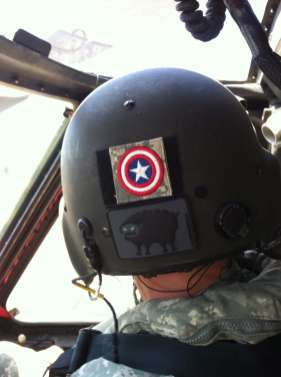 """Even pilots dig the """"Stealth"""" patch"""