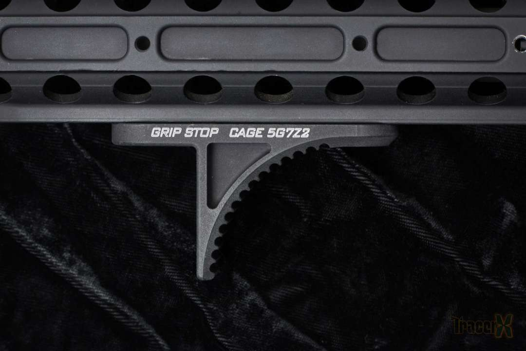 The Lanco Tactical Grip Stop. Photo Credit: TracerX Photography