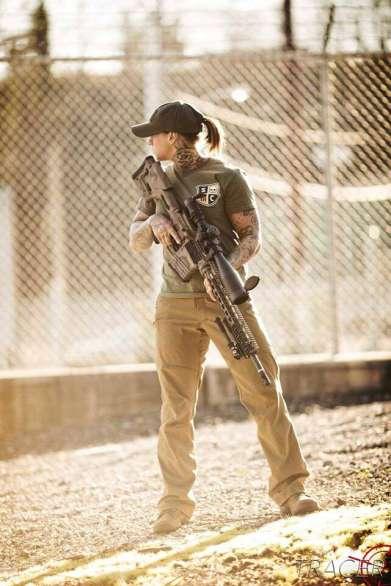 SI-Defense 300WM PETRA Rifle with Kinessa Johnson.
