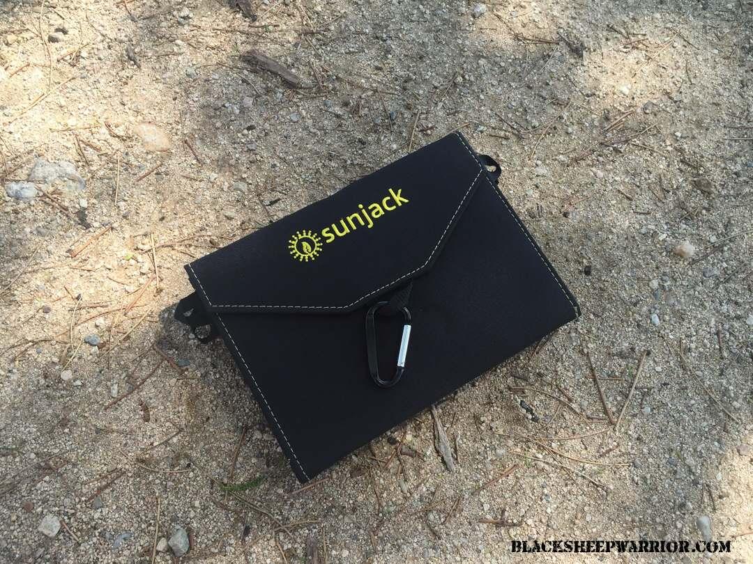 SunJack 14W Solar Panel Charger