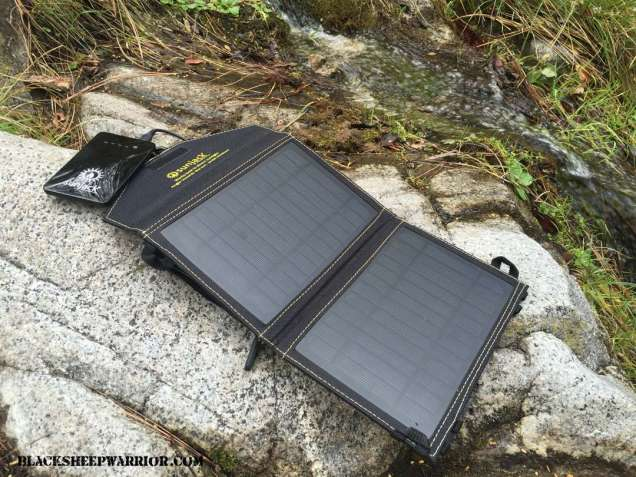 SunJack 7W Solar Panel Charger