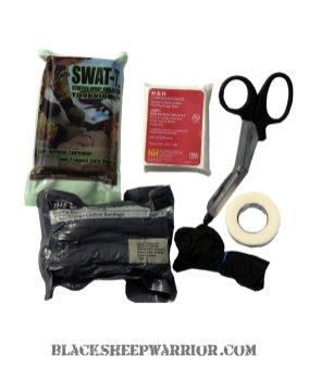 wild hedgehog tactical trauma medical kit black sheep warrior