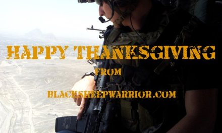 Happy Thanksgiving From Blacksheepwarrior.com