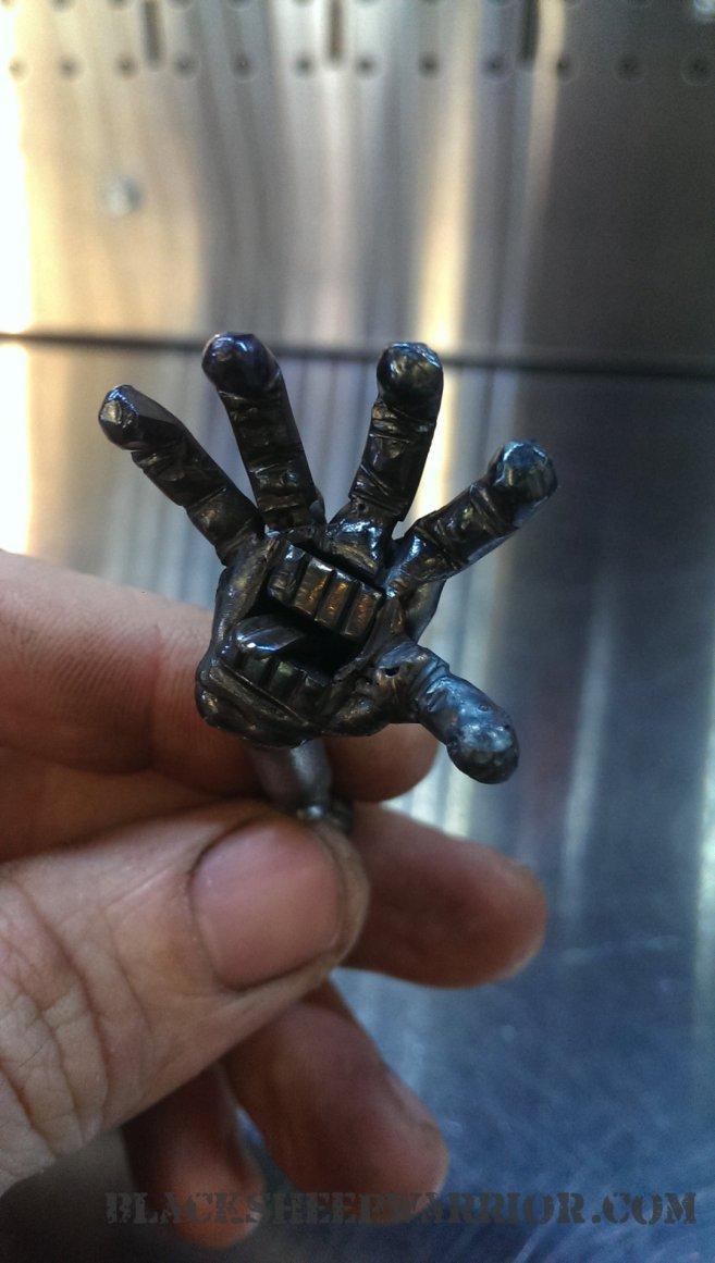 tigger welding piston art