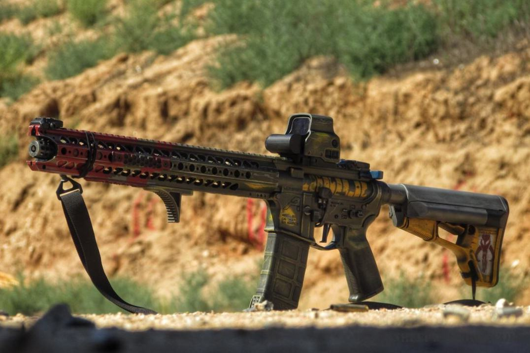 @Tactical Nerd Bubba Fett Rifle