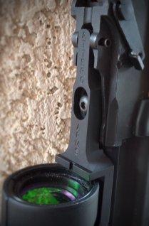 Close-up of MRO mount on RAS 47