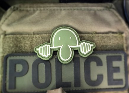 Kilroy Police patch