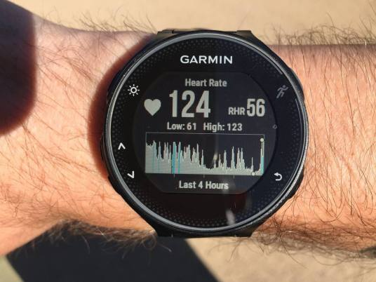 Garmin Forerunner 235 write up