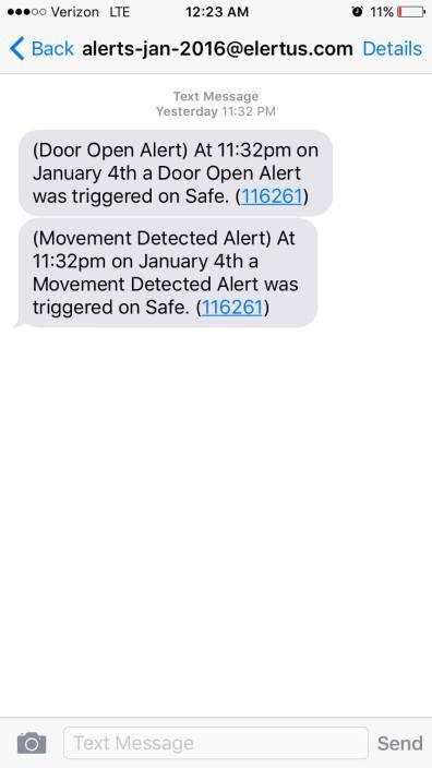 Movement Alert