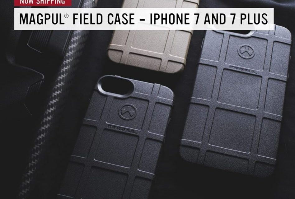 Magpul iPhone 7 and iPhone 7 plus Field Cases now available!