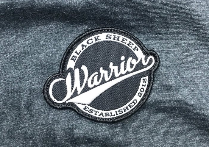 Black Sheep Warrior Vintage Patch