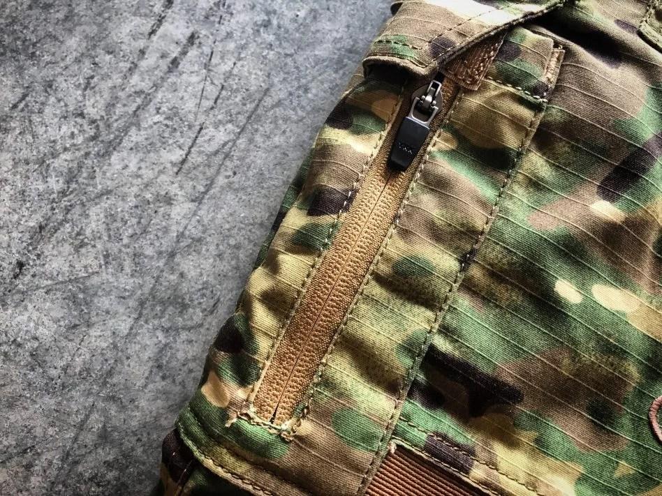 Disruptive combat pants