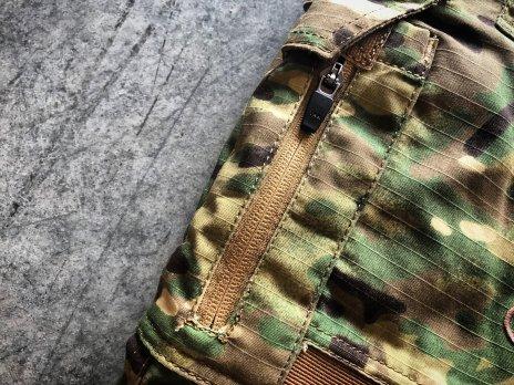 Disruptive Combat Pants YKK Zipper