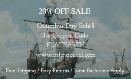 Megiddo Tactical Group Columbus Day Sale!