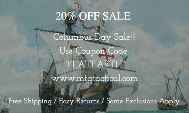 Megiddo Tactical Group Columbus Day Sale!