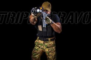 Triple Bravo Disruptive Pants and MK1 Covert Plate Carrier