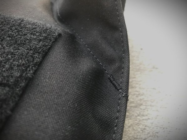 Covert Plate Carrier Stitching