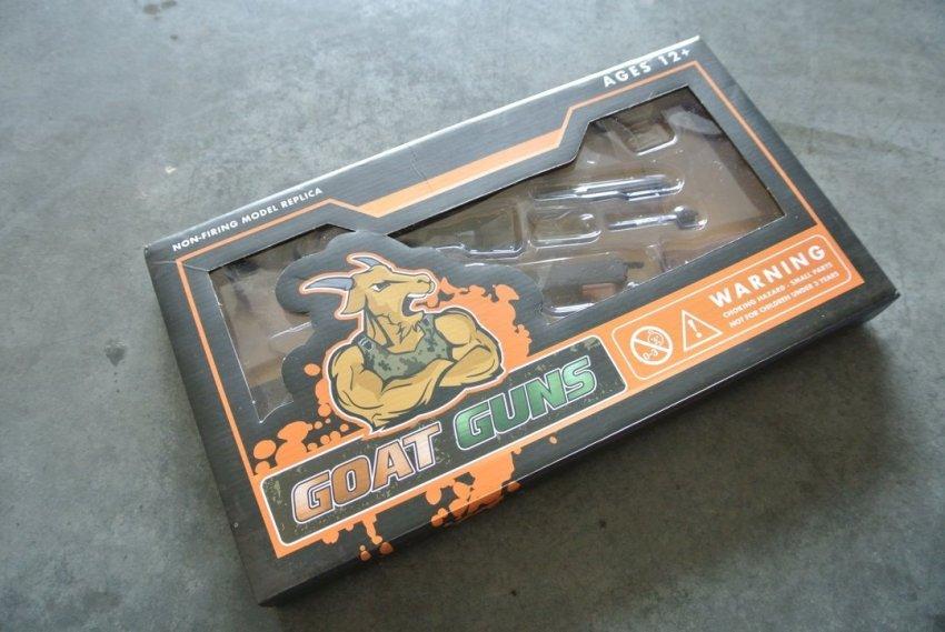 Goat Gun Ak-47 pakaging