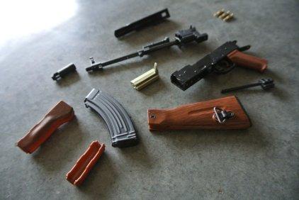 Goat Gun Ak-47 parts and review