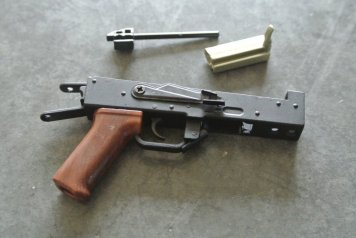 Goat Gun Ak-47 reciever and bolt pictures