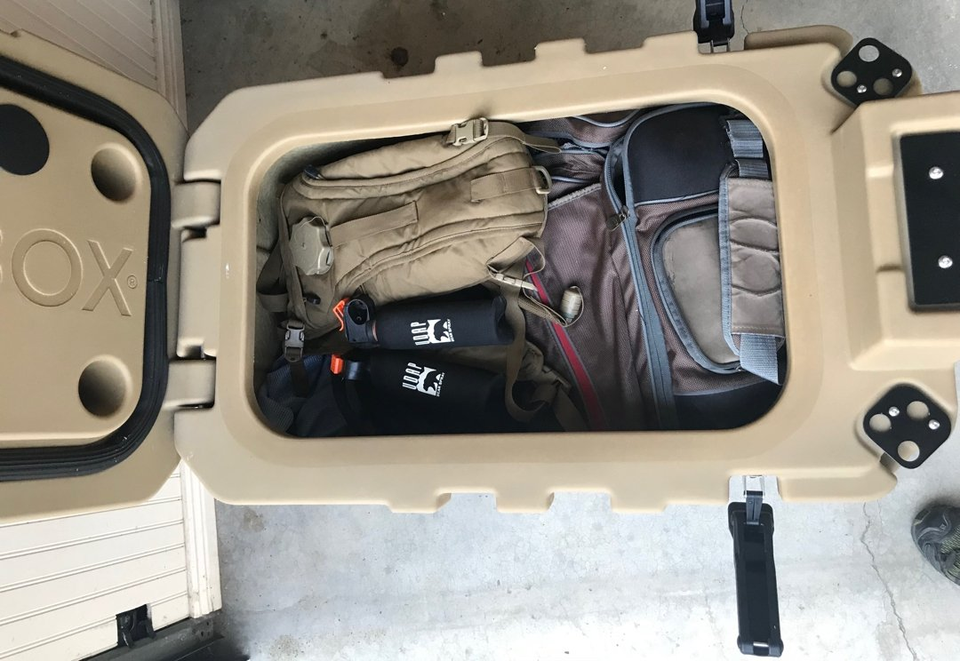 Speedbox Endurance 40 gear storage