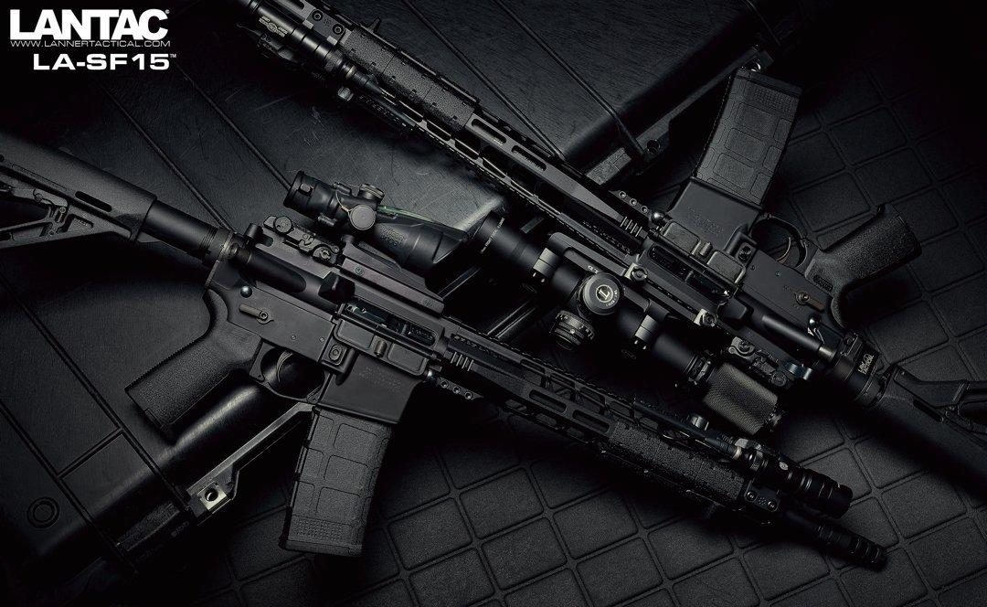 Lantac Announces the LA-SF15™ Rifles & Pistols