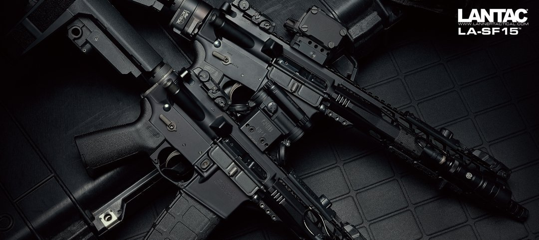 LA-SF15 Paralax Rifles and pistols