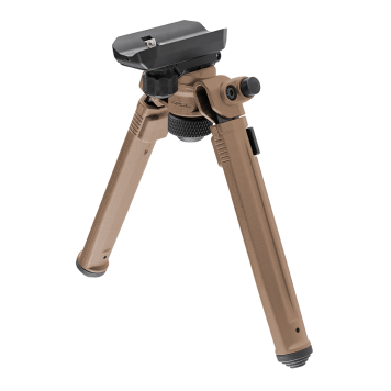 Magpul® Bipod – Sling Stud QD In FDE. For M1913/M-LOK® adapters using the Uncle Mike's pattern QD sling studs