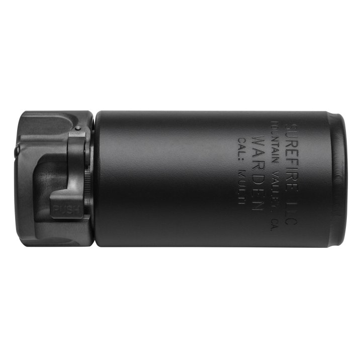 Surefire Warden 7.62 Direct Thread Blast Deflector Black