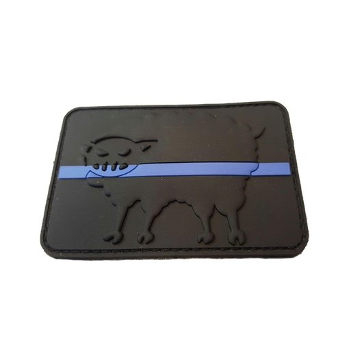 Black Sheep Warrior Thin Blue Line Patch