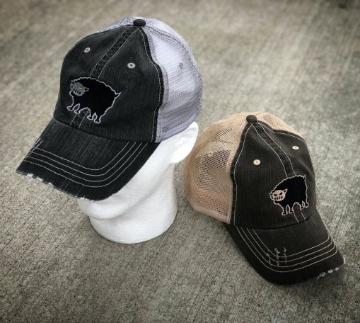 Black Sheep Warrior trucker hat