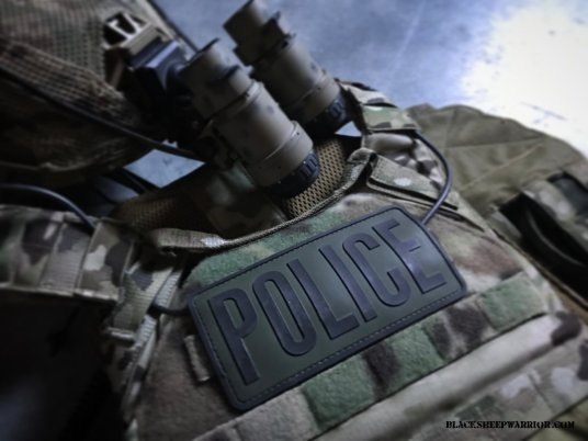 TAG Plate Carrier Police Identifiers