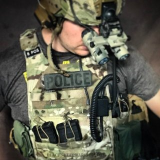TAG Vanguard Plate Carrier Review Front Velcro
