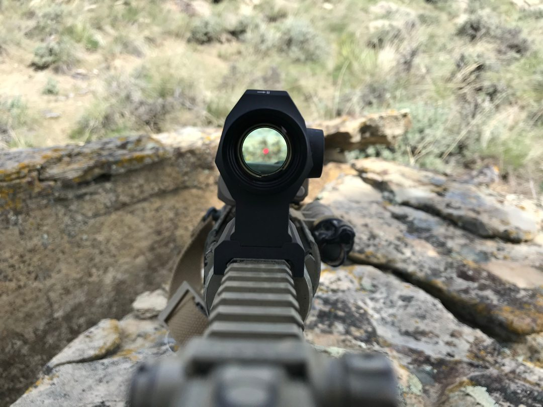 ROMEO 5 XDR reticle review
