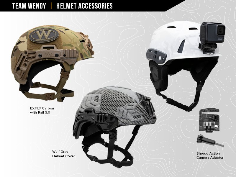 Team Wendy Helmet Accessories
