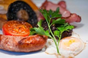 Cooked Breakfast at Blacks of Chapel Street