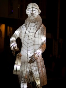 Humphry Davy Birthday Lantern Penzance