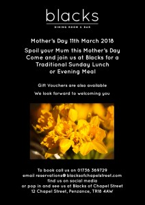 Mother's Day 2018 Flyer